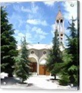 Do-00460 St Charbel Church Acrylic Print