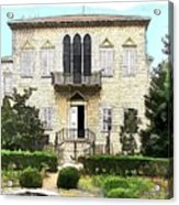 Do-00461 Yazbeck Palace Acrylic Print