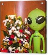 Do Aliens Get Hay Fever Acrylic Print