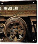 Do Not Overload Acrylic Print