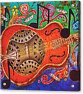 Dobro - Slide Guitar Acrylic Print