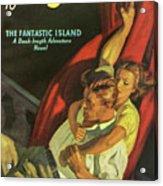 Doc Savage The Fantastic Island Acrylic Print