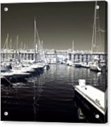 Dock In The Port Acrylic Print