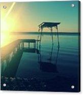 Dock Acrylic Print