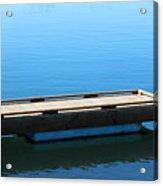 Dock On The Bay Acrylic Print