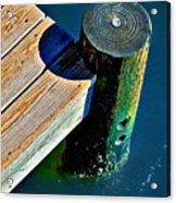 Dock Acrylic Print by Robert Smith