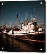 Docked For The Day Acrylic Print