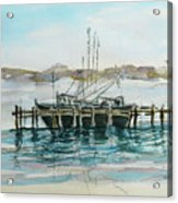 Docking Acrylic Print