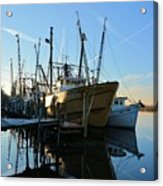 Docks At Darien  Acrylic Print