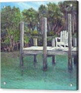 Dockside Acrylic Print