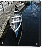 Dockside Quietude Acrylic Print