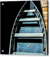 Dockside Skiff Acrylic Print