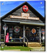 Doc's Country Store Acrylic Print