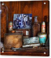 Doctor - My Cluttered Space Acrylic Print