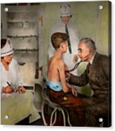 Doctor - At The Pediatricians Office 1925 Acrylic Print