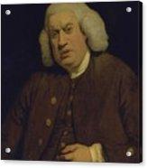 Doctor Samuel Johnson Acrylic Print