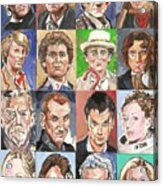 Doctor Who 1963 To 2017 Revised Acrylic Print