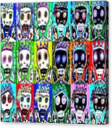 Dod Art 123uytt Acrylic Print