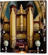 Dodd Pipe Organ Kent Town Adelaide Acrylic Print
