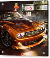 Dodge Challenger R T Acrylic Print