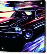 Dodge Challenger Rt 1970 Acrylic Print