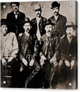 Dodge City Peace Commissioners Acrylic Print by Everett