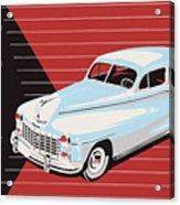 Dodge Showroom Poster Acrylic Print