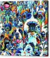 Dog Lovers Delight - Sharon Cummings Acrylic Print