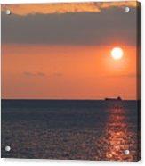 Dogashima Sunset Acrylic Print