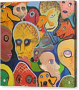 Dogs-aliens-people- And Other Strangers Acrylic Print
