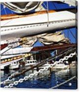 Dogwood Harbor Acrylic Print