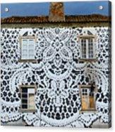 Doily House Acrylic Print