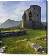 Dolbadarn Castle Acrylic Print