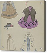 Doll And Wardrobe Acrylic Print