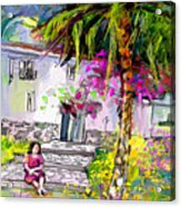 Doll House In Turre Acrylic Print
