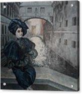 Doll In Venice Acrylic Print