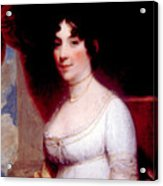 Dolley Madison 1768-1849, First Lady Acrylic Print by Everett