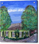 Dolliole Cottage Acrylic Print
