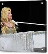 Dolly At The Pianao Acrylic Print