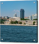 Dolmabahce Palace On The Bosphorus Acrylic Print