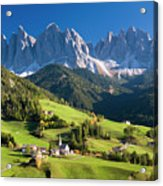 Dolomites, Italy #3 Acrylic Print