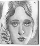 Dolores Costello Acrylic Print