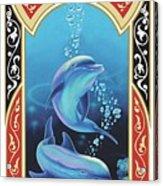 Dolphin Mecca Acrylic Print