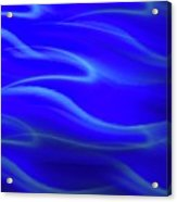 Dolphin Waves Acrylic Print