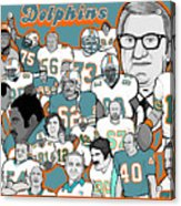 Dolphins Ring Of Honor Acrylic Print