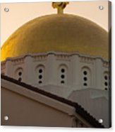 Dome And Cross At St Sophia Acrylic Print