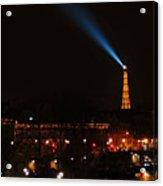 Dome Eiffel Tower Paris France Acrylic Print