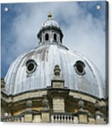 Dome In The Clouds Acrylic Print