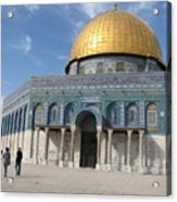 Dome Of The Rock Acrylic Print