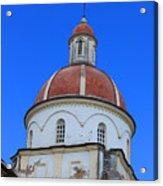 Dome On A Church Acrylic Print
